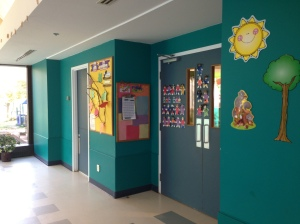 Pre school room entry to classroom